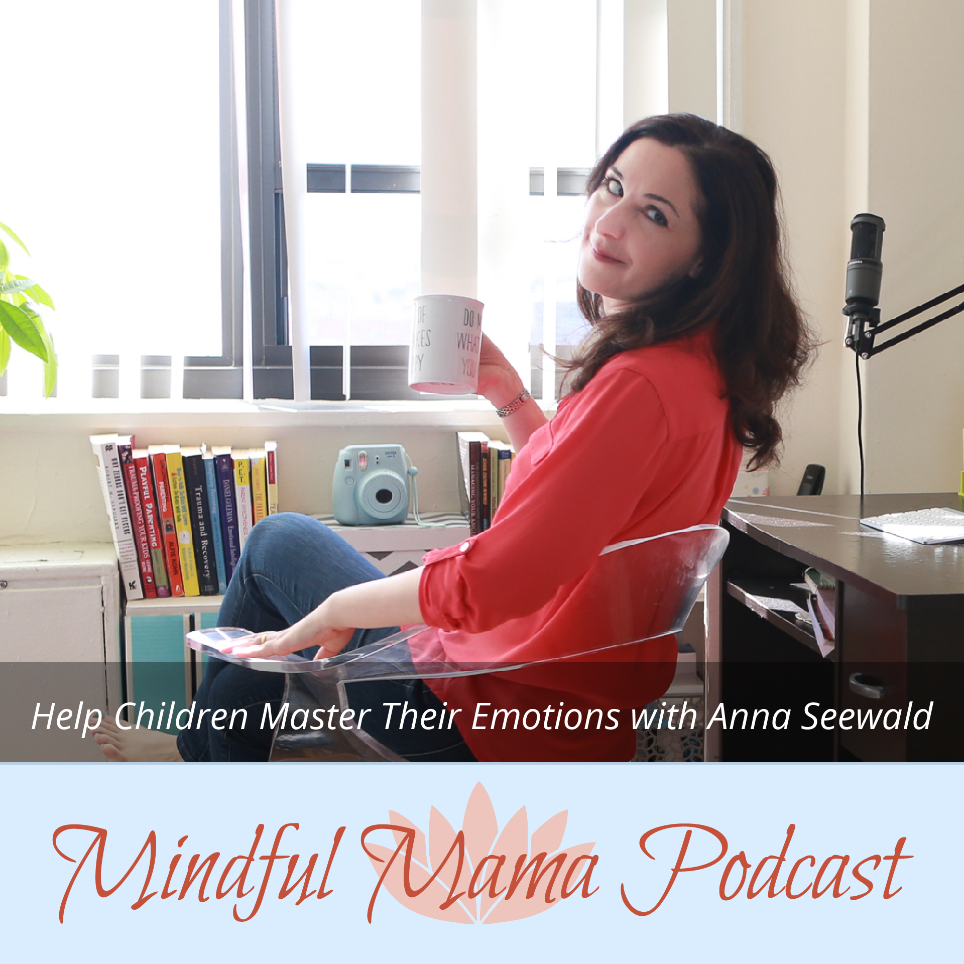 Help Children Master Their Emotions podcast interview with Anna Seewald