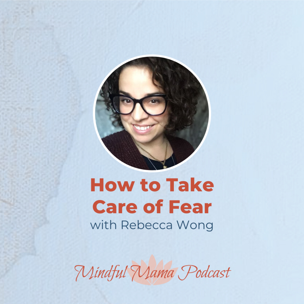 Mindful Mama podcast interview with author Rebecca Wong episode #192